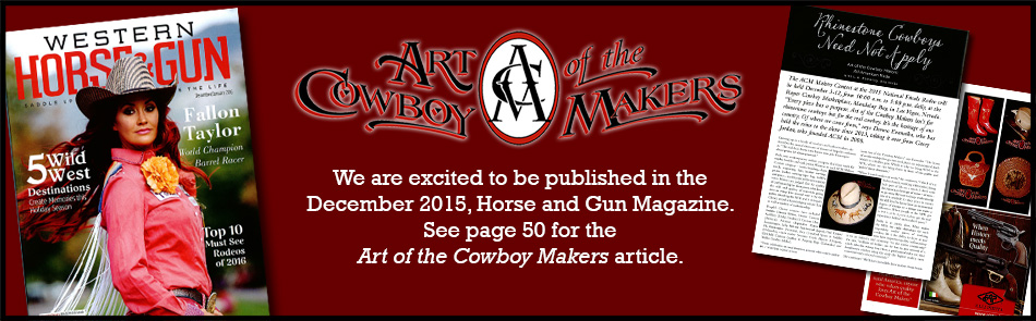 Horse & Gun Magazine Article