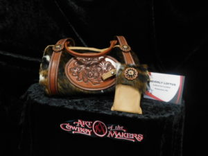 Leather Carving 2nd Place - Beverly Loftus